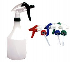 Spray Bottle Round 750ml & Trigger Spray