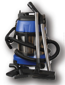 Vacuum Cleaner Stainless W&D 15L